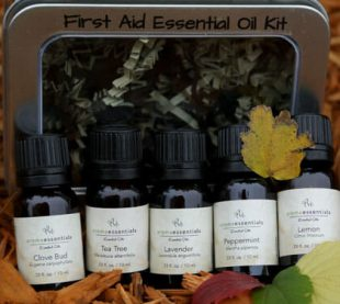 Aromatherapy Designed for You - First Aid Essential Oil Kit