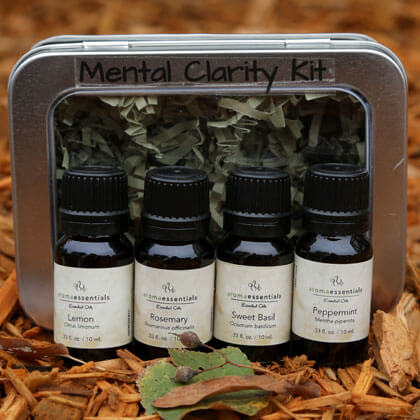 Aromatherapy Designed for You - Mental Clarity Kit